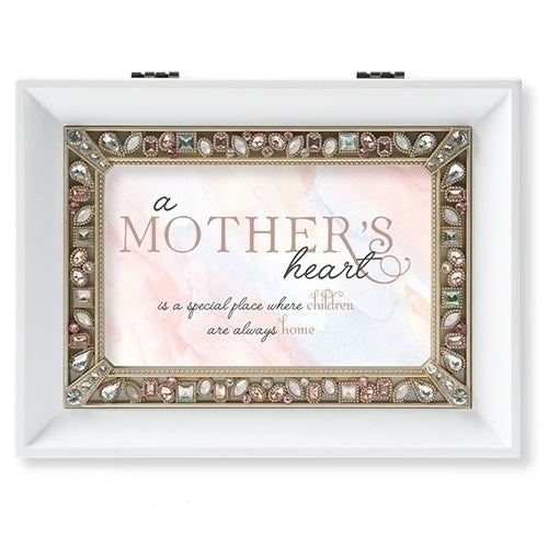A Mother's Heart White Jlg Bx Mother's Day - Unique Catholic Gifts