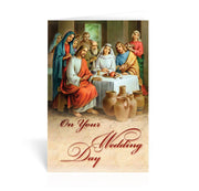 Wedding Day Greeting Card - Unique Catholic Gifts