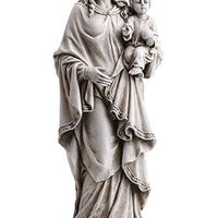 "Mary Queen Of Heaven With Child Garden Statue 18 1/2"" - Unique Catholic Gifts"