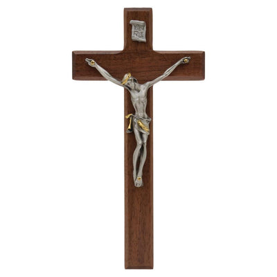 Walnut Wall Crucifix (7