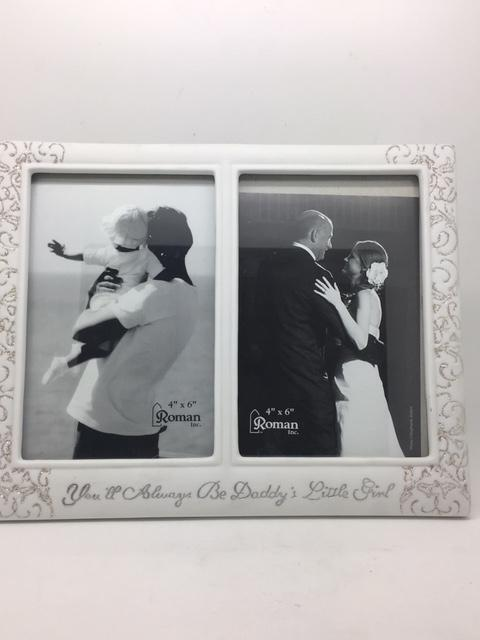 "Daddy's Girl Wedding Picture Frame (9 3/4"" X 7 3/4"")"