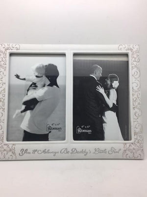 Daddy's Girl Wedding Picture Frame (9 3/4