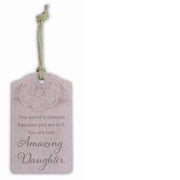 """Amazing Daughter"" Gift Tag"