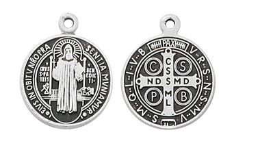 St. Benedict Medal for Baby/Child (1/2