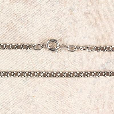 "Heavy Rhodium Plated Chain 18"" - Unique Catholic Gifts"
