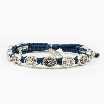 Archangel Michael Protection Bracelet Royal Blue - Unique Catholic Gifts