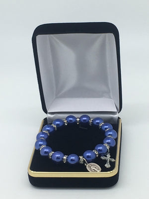 Dark Blue Bracelet - Unique Catholic Gifts