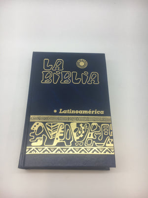 Biblia Latinoamérica,(bolsillo) Azul - Unique Catholic Gifts