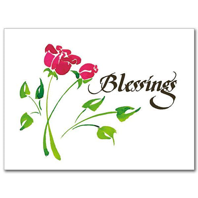 Blessings Thank You Greeting Card