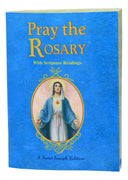 Pray the Rosary Book (with Scripture Readings) - Unique Catholic Gifts