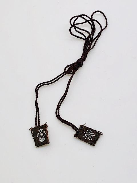 "Brown Scapular 1/2"" cloth - Unique Catholic Gifts"