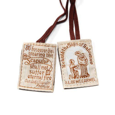 Traditional Brown Scapular - Unique Catholic Gifts