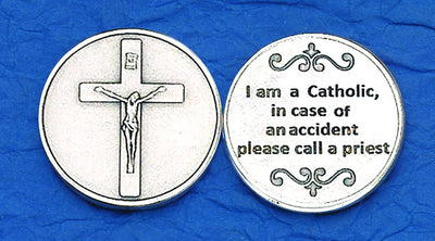 I am a Catholic Pocket Token Coin - Unique Catholic Gifts