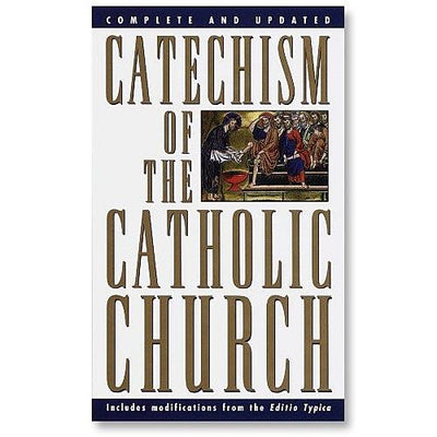 Catechism of the Catholic Church  Paperback Edition - Unique Catholic Gifts