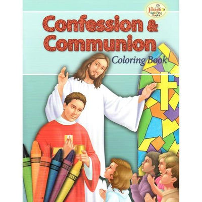 Confessions and Communion Coloring Book