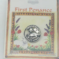 Pennance Pin (Reconciliation) - Unique Catholic Gifts