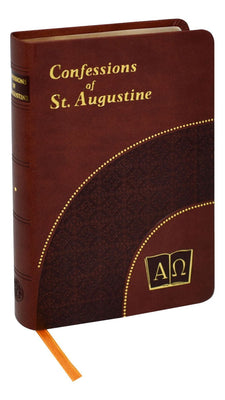 Confessions of St. Augustine (Brown) - Unique Catholic Gifts