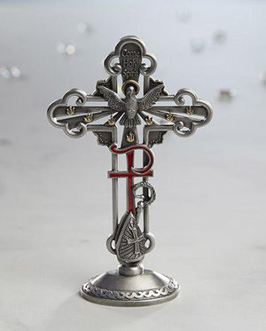 Sacramental Tabletop Cross  Confirmation Holy Spirit