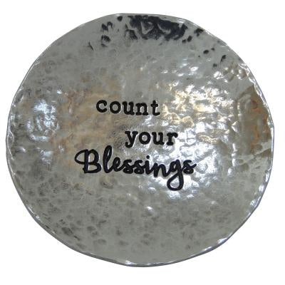 Count Your Blessings Trinket Dish