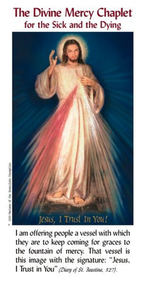 The Chaplet of Divine Mercy for the Sick and Dying pamphlet - Unique Catholic Gifts