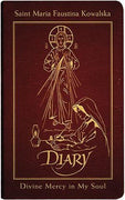 Diary of Saint Maria Faustina Kowalska, Deluxe (Burgundy Leather)