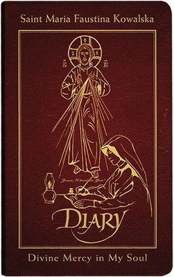 Diary of Saint Maria Faustina Kowalska, Deluxe (Burgundy Leather) - Unique Catholic Gifts