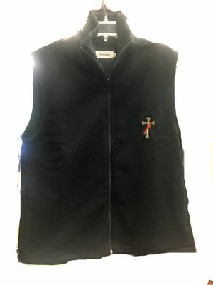 Catholic Black Deacon Vest - Unique Catholic Gifts
