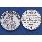 Divine Mercy Italian Pocket Token Coin
