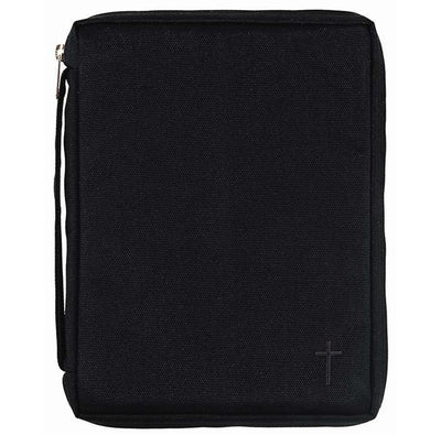Black Bible  Case with Cross (XL) - Unique Catholic Gifts