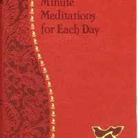 Minute Meditations For Each Day by Bede Naegele - Unique Catholic Gifts