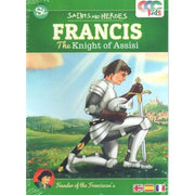 Francis, Knight of Assisi DVD.Cartoon or Animated Film