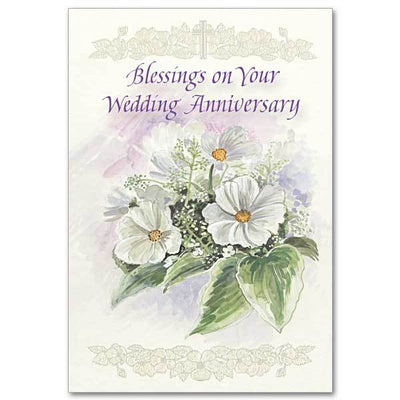 Blessings On Your Wedding Anniversary General Wedding Anniversary (5.5 x 8