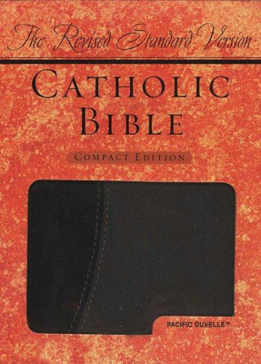 Catholic Bible-RSV-Compact Oxford (black and grey) - Unique Catholic Gifts