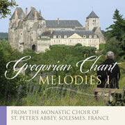 Gregorian Chant Melodies Volume I by Solesmes Monastic Choir of the Abbey of St. Peter - Unique Catholic Gifts