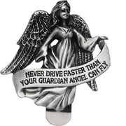 Guardian Angel Visor Clip - Unique Catholic Gifts
