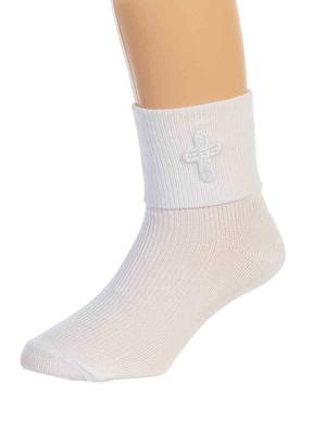 Baptismal Sock Uni-Sex (Size 0-0)