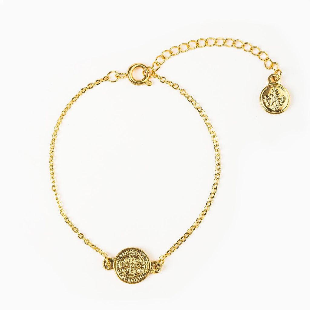 Breathe Chain Bracelet (Gold)