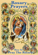 Rosary Prayers How to Pray the Rosary Book - Unique Catholic Gifts