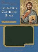 Ignatius Bible - Large Print Edition - Black Bonded Leather RSV