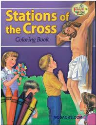 Stations of the Cross Colring Book