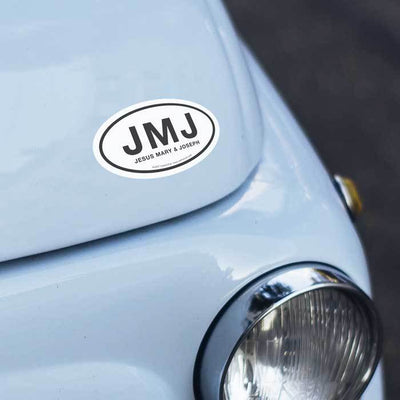 JMJ Euro Car Decal (5 x 3