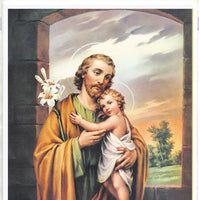 "St. Joseph Print (8 x 10"") - Unique Catholic Gifts"