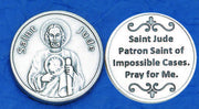 St. Jude Italian Pocket Token Coin - Unique Catholic Gifts
