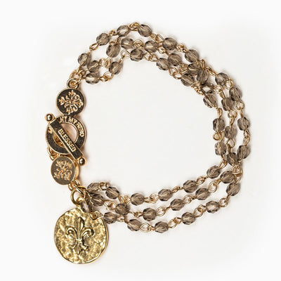 Gold Layer of Grace Bracelet - Unique Catholic Gifts