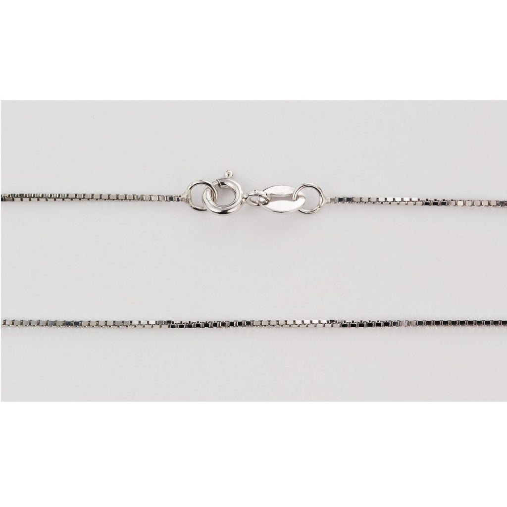 "Sterling Silver Box Chain 16"" - Unique Catholic Gifts"