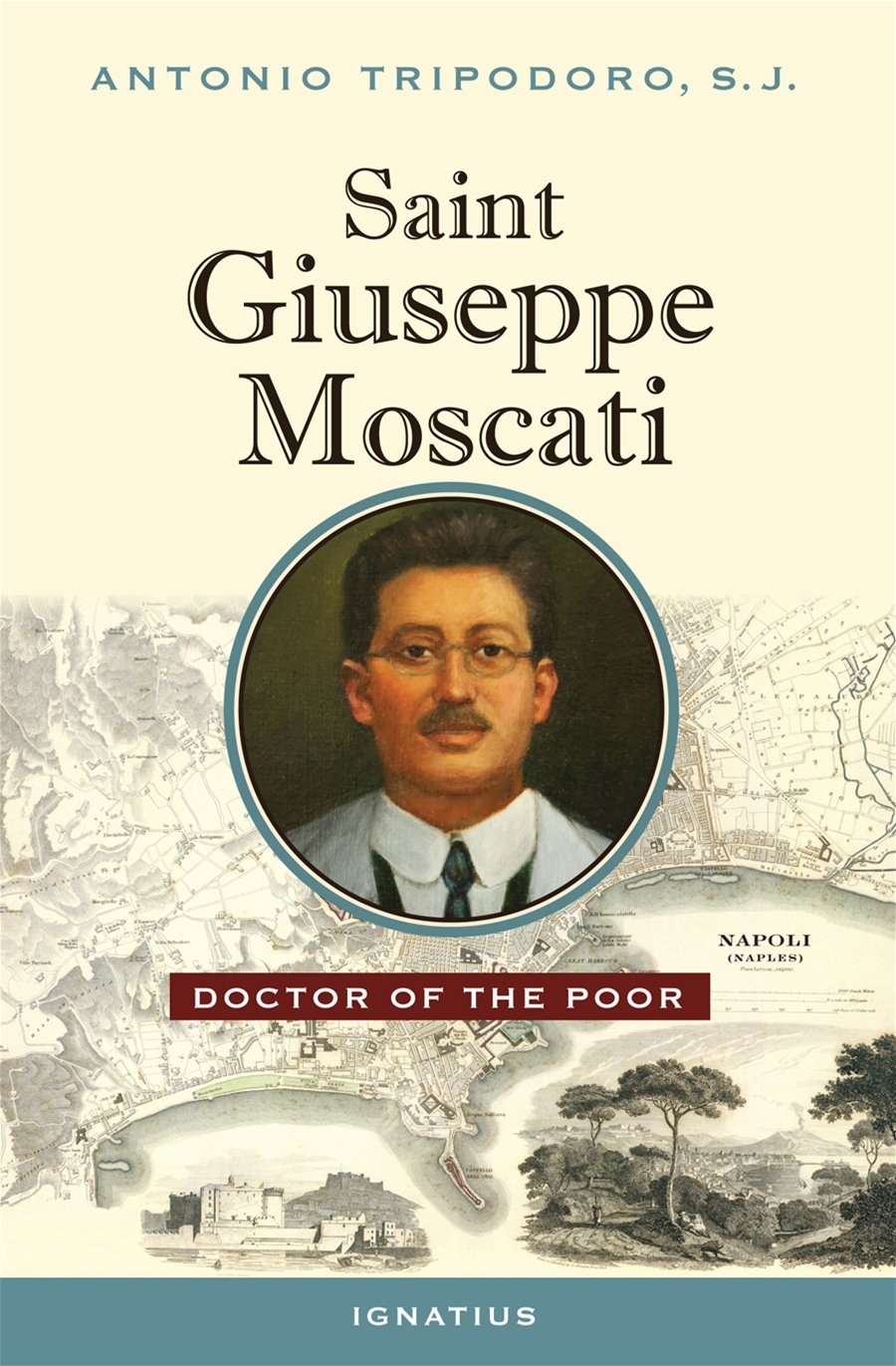 Saint Giuseppe Moscati Doctor of the Poor by Antonio Tripodoro - Unique Catholic Gifts