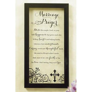 Marriage Prayer Wall Plaque - Unique Catholic Gifts