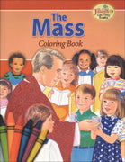 The Mass Coloring Book - Unique Catholic Gifts