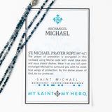 Archangel St. Michael Morse Code Prayer Rope