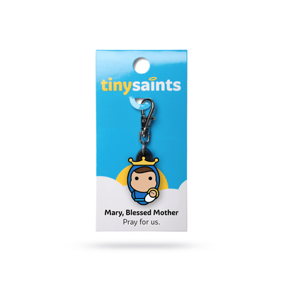 Mary Blessed Mother Tiny Saint - Unique Catholic Gifts